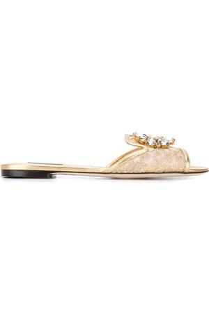 Dolce & Gabbana Bianca flat sandals
