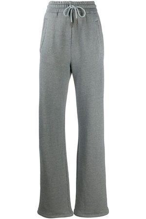 OFF-WHITE Diag wide-leg track pants