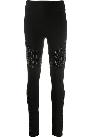 Philipp Plein Moon crystal leggings