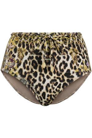 Camilla Leopard print bikini bottoms