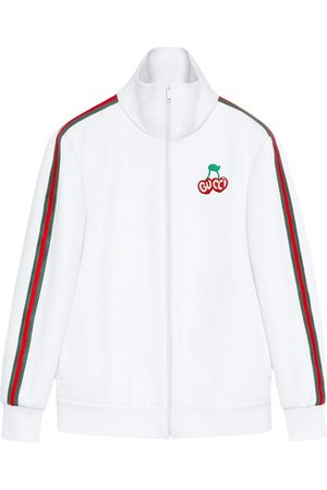 Gucci Logo cherry jacket