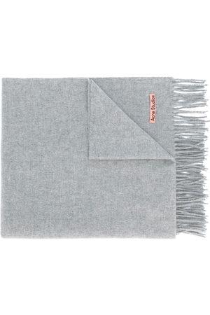 Acne Studios Oversized fringed scarf