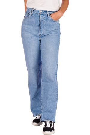Levi's Damen Straight - Ribcage Straight Ankle Jeans