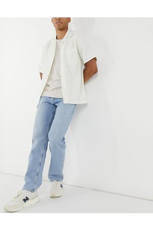 ASOS Original fit jeans in mid stone wash