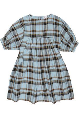 MORLEY Kariertes Kleid Maude aus Baumwolle
