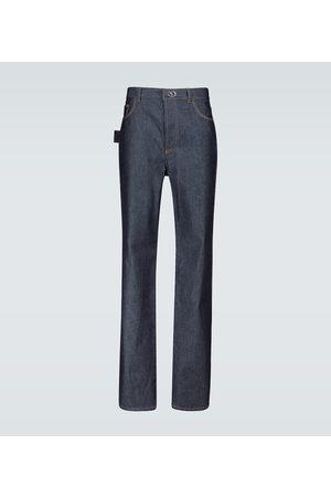 Bottega Veneta Straight Jeans mit Ziernähten