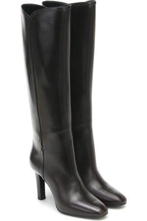 Saint Laurent Stiefel Jane 95 aus Leder