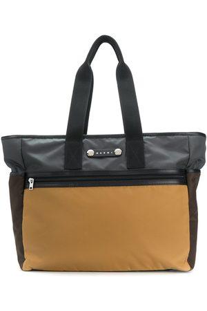 Marni Hackney colour-block tote bag