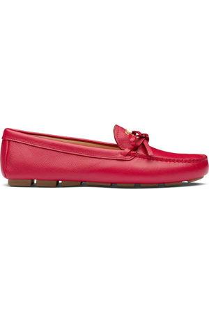 Prada Damen Halbschuhe - Bow detail loafers