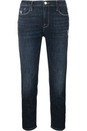 Frame Le Garcon Crop jeans