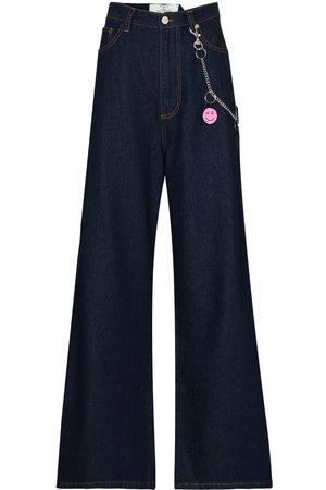 Natasha Zinko High-rise wide-leg jeans