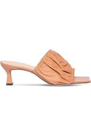 """Wandler 55mm Hohe Sandaletten Aus Leder """"ava"""""""