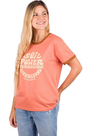 Patagonia Damen Kurze Ärmel - Road To Regenerative Ringer T-Shirt