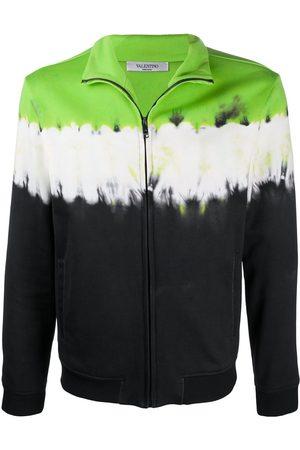 VALENTINO Herren Sweatshirts - Tie-dye zipped sweatshirt