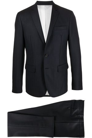 Dsquared2 Two-piece chevron wool twill suit
