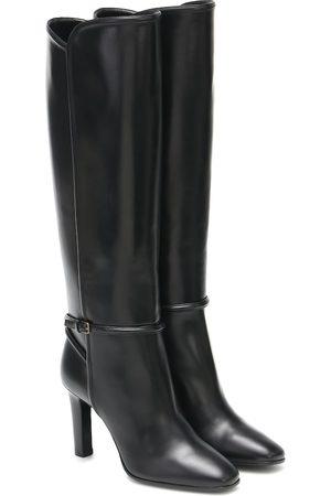 Saint Laurent Stiefel Jane aus Leder