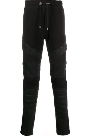 Balmain Herren Jogginghosen - Panelled padded track pants