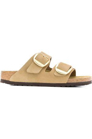 Birkenstock Damen Sandalen - Suede buckle sandals