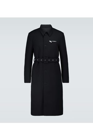 RAF SIMONS Slim-Fit Trenchcoat aus Wolle