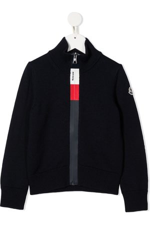 Moncler Zip-up logo cardigan