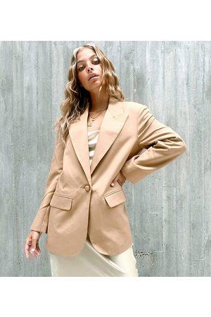 ASOS ASOS DESIGN Petite perfect blazer in camel