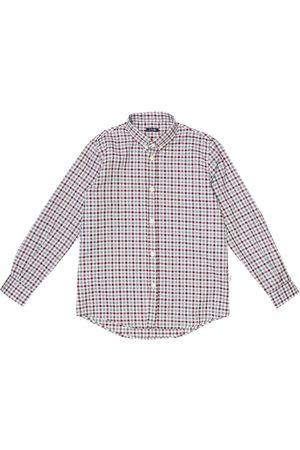 Il gufo Kariertes Hemd aus Baumwolle