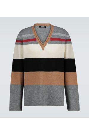 UNDERCOVER Gestreifter Pullover aus Wolle