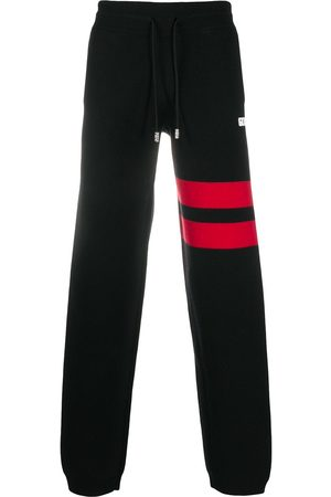 GCDS Logo plaque track trousers