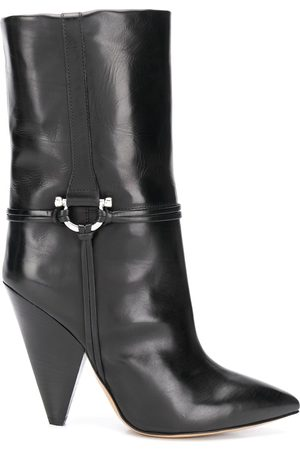 Isabel Marant Pointed leather ankle boots