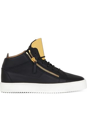 Giuseppe Zanotti Kriss Steel high-top sneakers