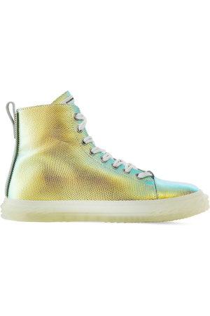 Giuseppe Zanotti Blabber shimmering lizard-effect sneakers