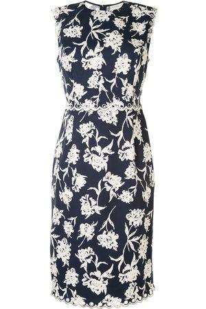 Sachin & Babi Lillie floral-print faille dress