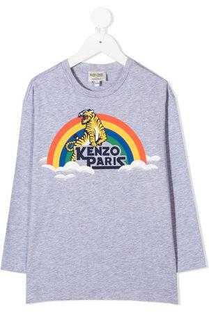 Kenzo Tiger print long-sleeve T-shirt