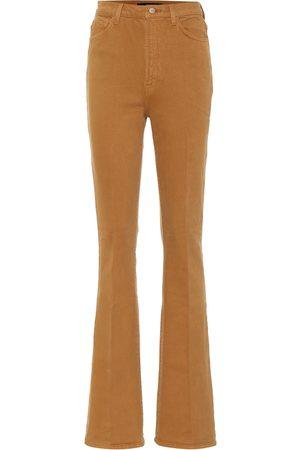 J Brand High-Rise Bootcut Jeans Runway