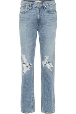 SLVRLAKE High-Rise Straight Jeans Virginia