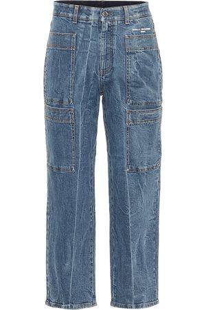Stella McCartney High-Rise Cropped Jeans