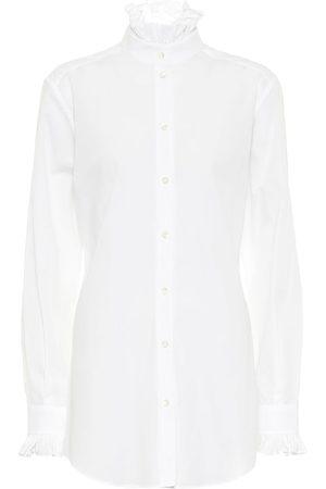 Dolce & Gabbana Bluse aus Baumwollpopeline