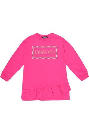 VERSACE Kleid '90s Vintage aus Baumwolle