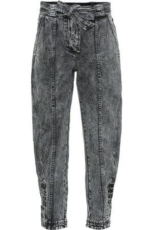 ULLA JOHNSON High-Rise Cropped Jeans Carmen