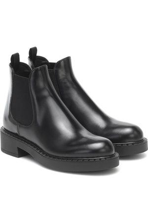 Prada Chelsea Boots aus Leder