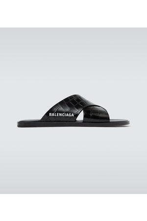 Balenciaga Sandalen aus Leder