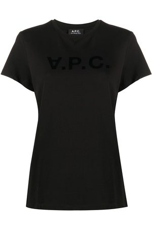 A.P.C Logo-print short sleeve t-shirt