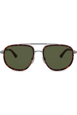 Persol Aviator shaped sunglasses