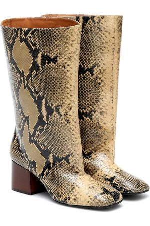 Marni Stiefel aus Leder