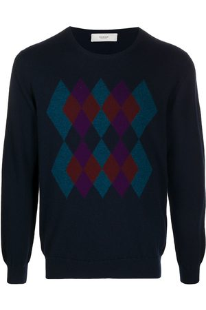 PRINGLE OF SCOTLAND Herren Strickpullover - Argyle-intarsia sweater