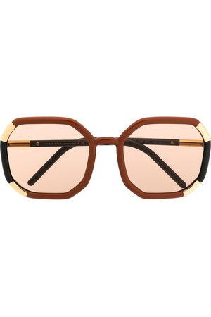 Prada Decode round sunglasses