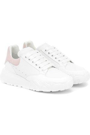 Alexander McQueen Plateau-Sneakers Court aus Leder