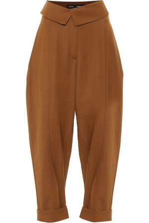 Proenza Schouler High-Rise Hose aus Wolle