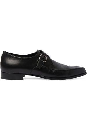 Saint Laurent Herren Halbschuhe - 15mm Hohe Loafers Aus Leder