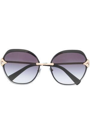 Bvlgari Square tinted sunglasses